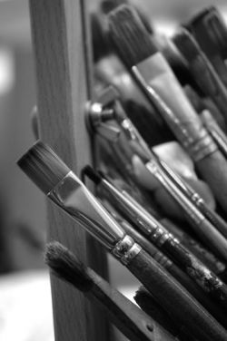 Paint Brushes from Breon O'Casey's studio